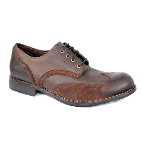Handmade leather shoe