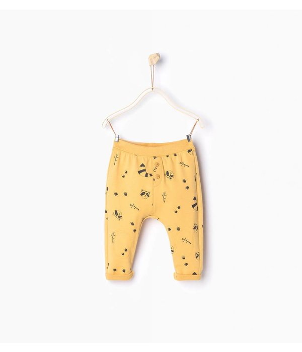 Zara Yellow Leggings