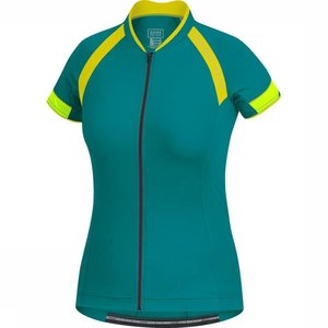 Gore Bikewear Men Cycling Shirt Petrol / Yellow
