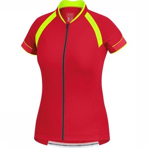Gore Bikewear Men Cycling Shirt Red / Yellow