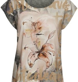 Cream T-shirt Ines