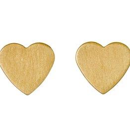 Pilgrim Boucles d'oreilles coeur Vivi gold