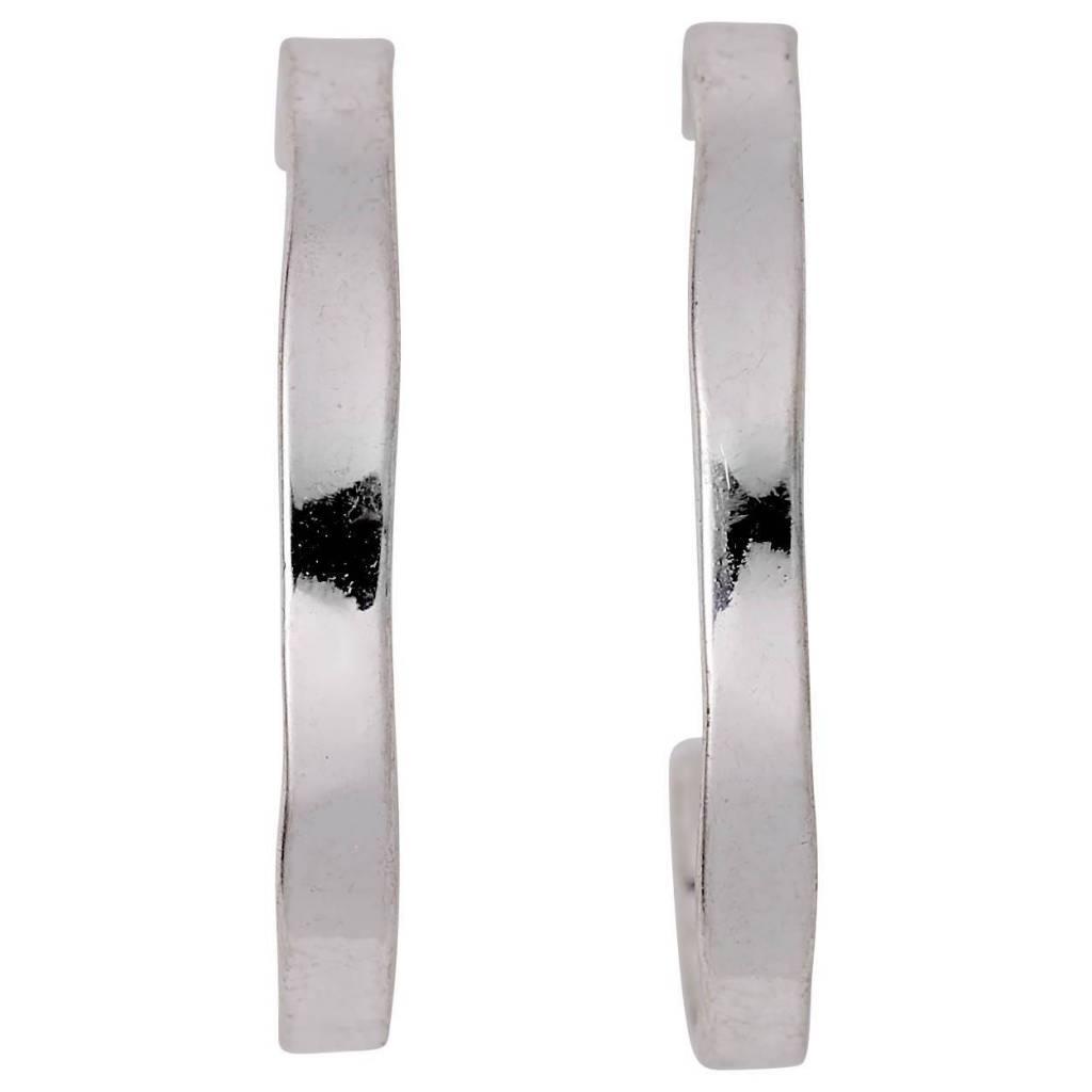 Pilgrim Boucles d'oreilles anneaux silver