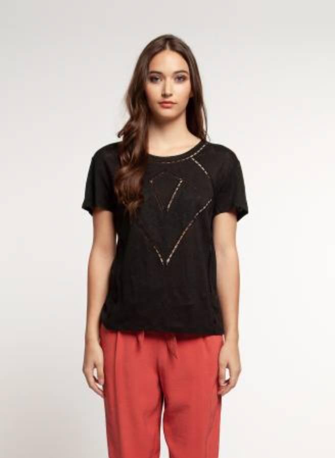Dex T-Shirt brodé