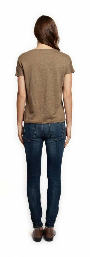 Dex T-shirt col V