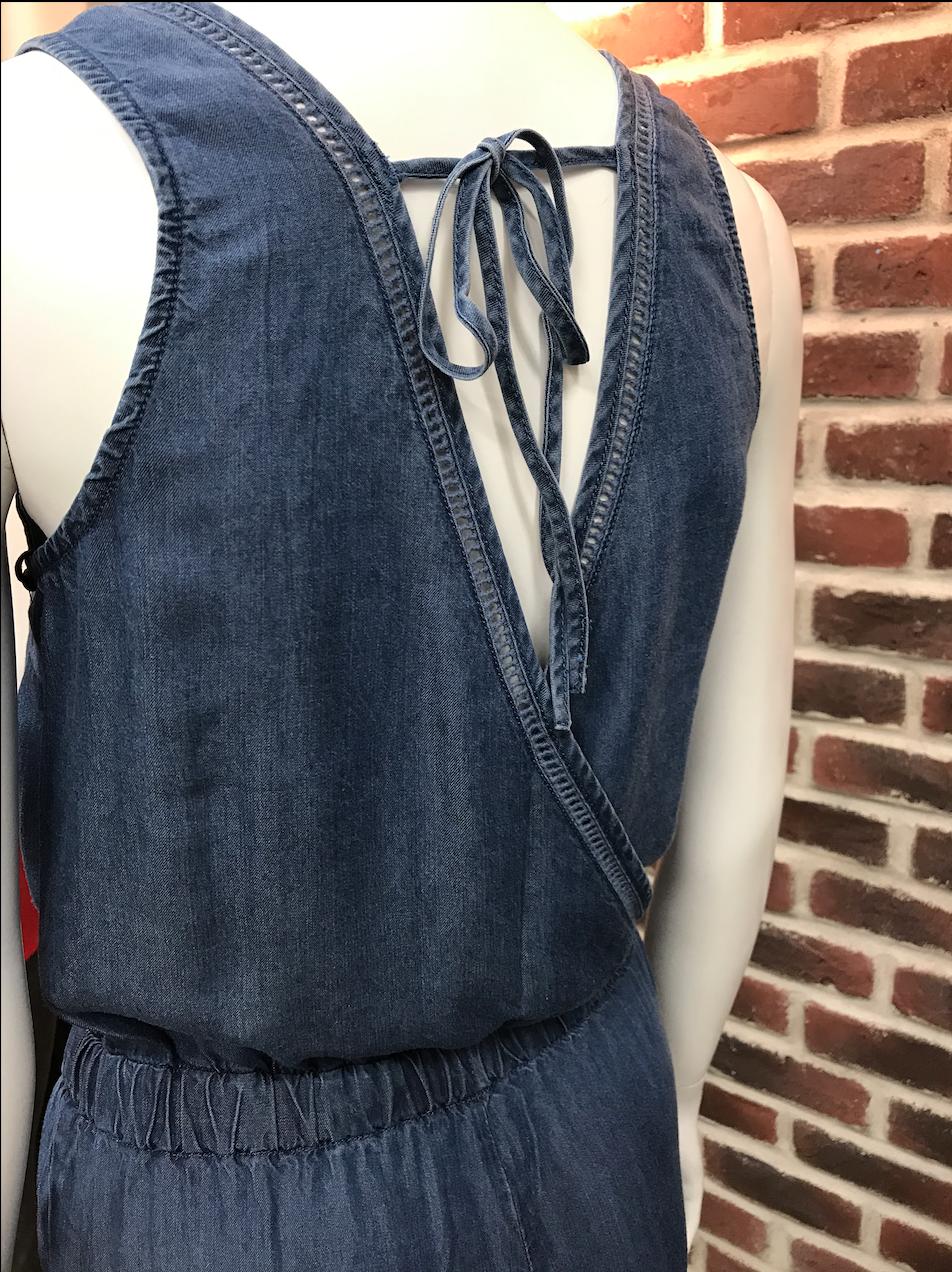 Dex Jumpsuit V-neck