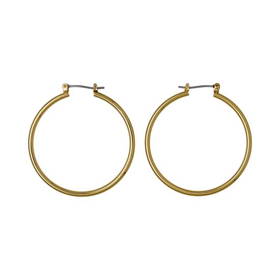 Pilgrim Boucles d'oreilles anneaux 28 mm or