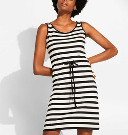 Esprit Robe cross back stripes