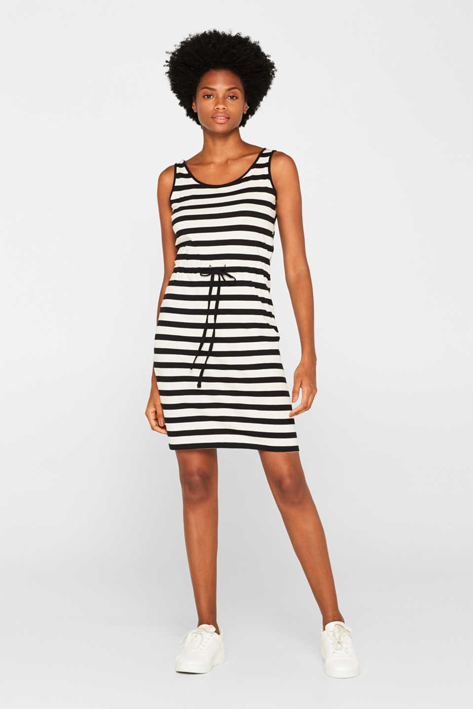 Esprit Robe cross back stripes