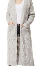 Dex Cardigan long avec poches