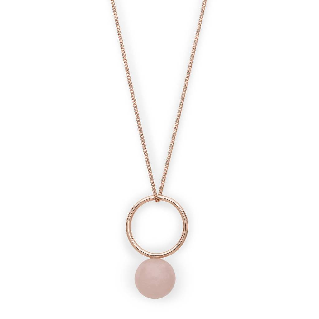 Pilgrim Collier Hayden rose gold
