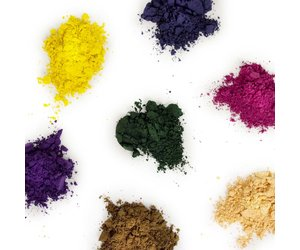 Natural dye color food