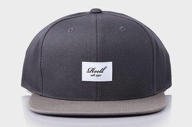Pitchout 6-Panel Cap Dark Grey