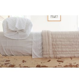 Kerry Cassill KC King Quilt Solid White Sand
