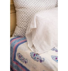Kerry Cassill KC Standard Pillow Case Dove Stripe