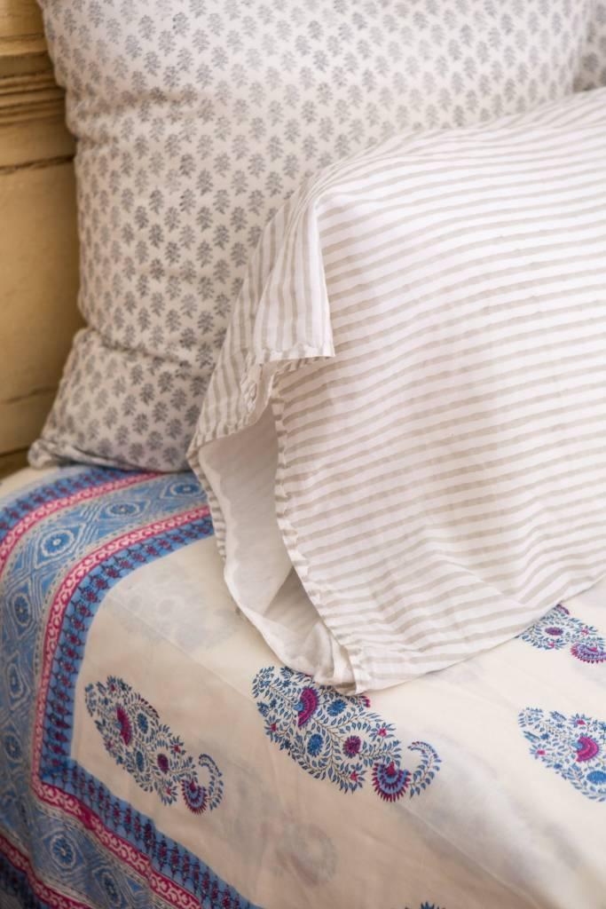 Kerry Cassill KC Standard Pillow Case Dove Stripe