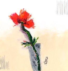 Red Poppy 12x12