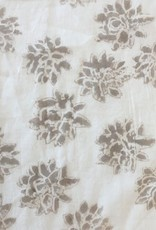 Kerry Cassill KC Baby Quilt Taupe Lily w/ B Wallpaper