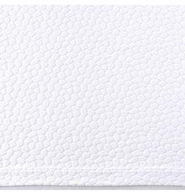 Pine Cone Hill Sassolino White Matelasse coverlet- Queen