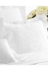 Sassolino White Matelasse Sham Standard