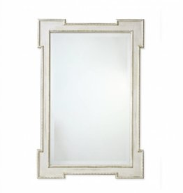 Redford House Mirror Swedish Raw Cotton White 29Wx42H