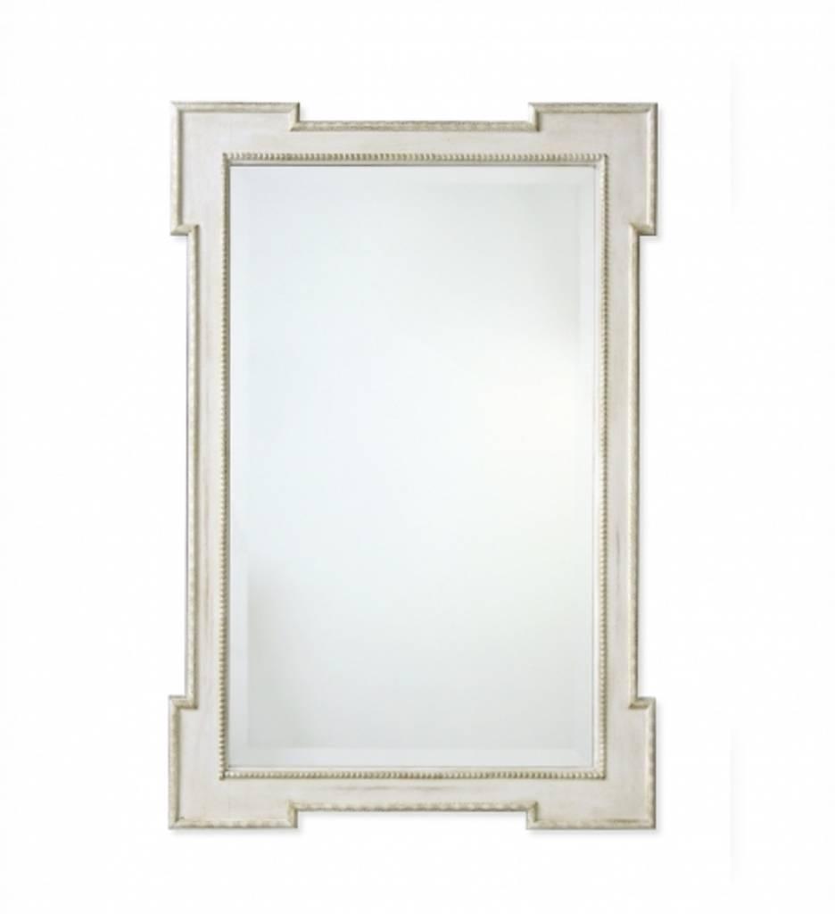 Redford House Mirror Swedish Raw Cotton White 29Wx42H