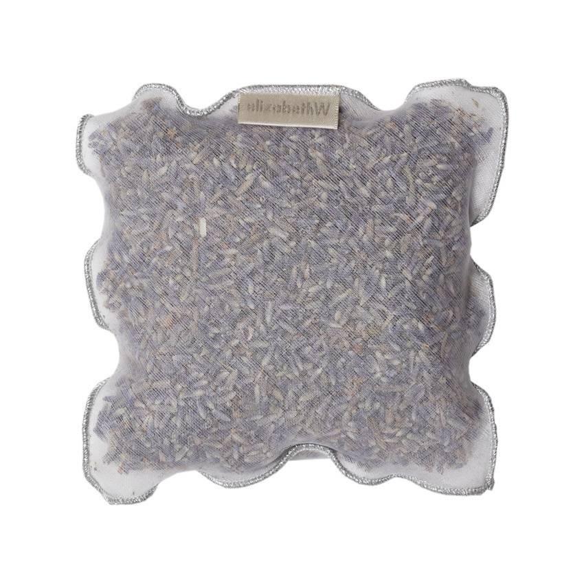 Elizabeth W Lavender Sachet Silver Trimmed