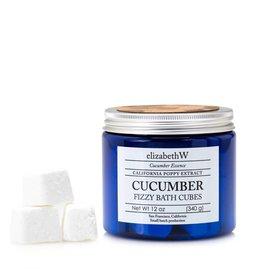 Elizabeth W EW Fizzy Bath Cubes Cucumber