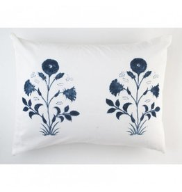 "Les Indiennes Les Indiennes ""Veronique"" Standard Pillow Sham Pair - Indigo"