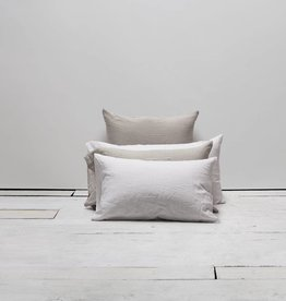 Matteo Vintage Linen Off White Sham - King