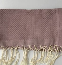 Scents and Feel Guest towel, Dusty Rose