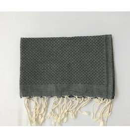 Scents and Feel Guest towel, Dark Grey