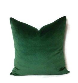 AM Emerald Velvet Pillow