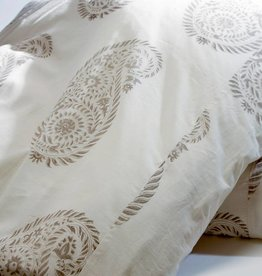 Les Indiennes Les Indiennes Yvette duvet French gray king
