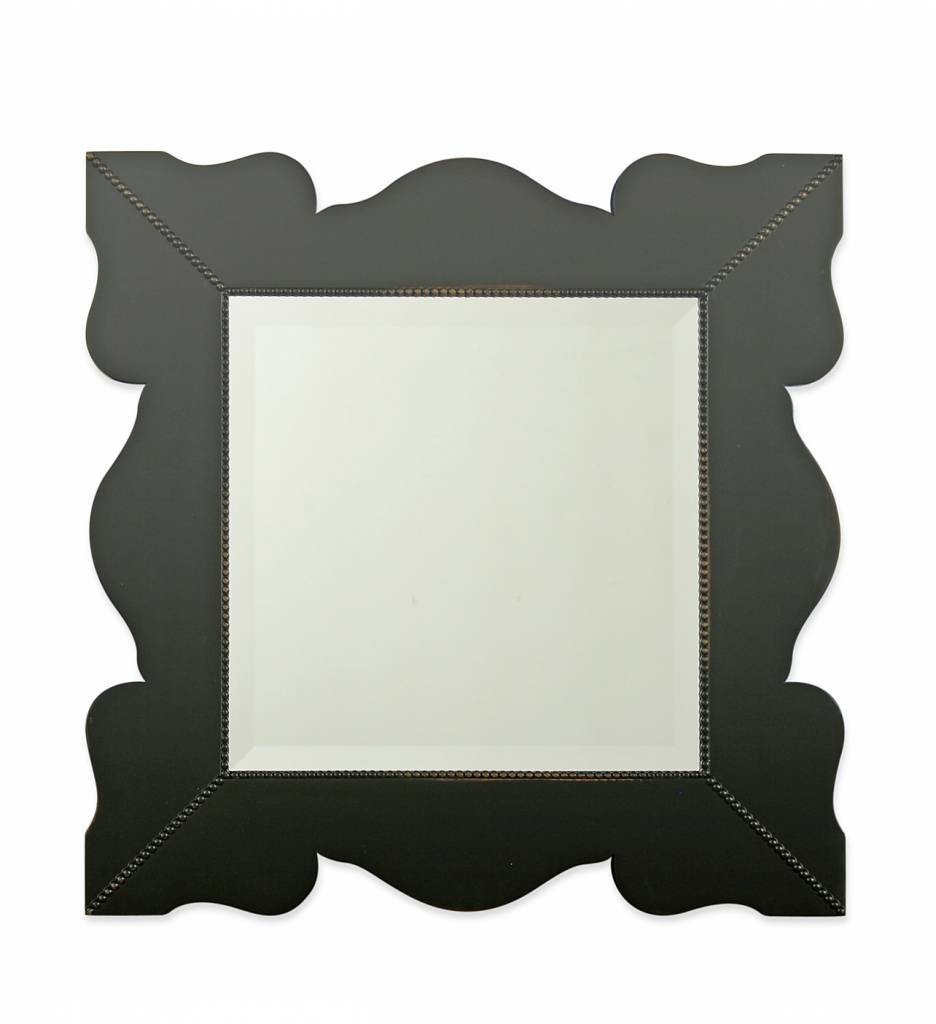 "Redford House Mirror ""Elizabeth""    29""WX29""H Black"