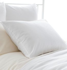Pine Cone Hill Silken Solid White Pillowcases Standard