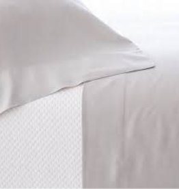 Pine Cone Hill Silken Solid Grey Pillowcases Standard