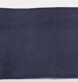 Pine Cone Hill Stone Washed Linen Indigo Tailored Paneled Bed Skirt King