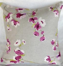 Orchid Blossom designer pillow 20x20