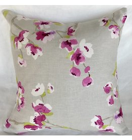 Orchid Blossom designer pillow 20x20