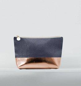 Christen maxwell- Casco/ rose gold luxe mini cosmetic