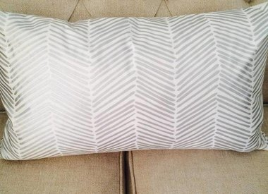 Metallic Printed Pillow Covers and Bedskirts