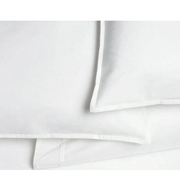 AREA home Pleat white Euro sham