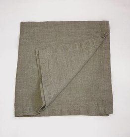 "Ashley Meier Fine Linens Stonewashed Linen Napkin - 21"" Natural"