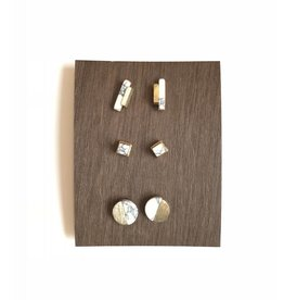 Roost Howlite Post Earrings
