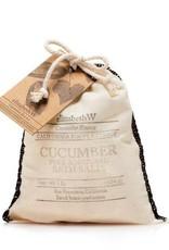 Elizabeth W EW Bath Salts in Bag Cucumber