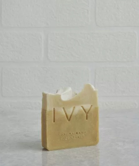 Ivy Hand made soap -goat milk-anzer honey Large