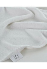 Ivy Nova/Terry Jacquard Border White Bath