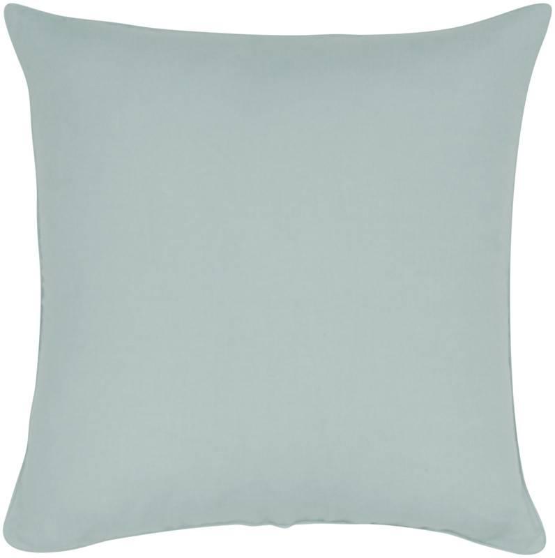 "India's Heritage Linen Cotton Pillow 20""- Mosaic Blue"