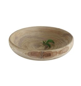 Decorative Paulownia Wood Bowl